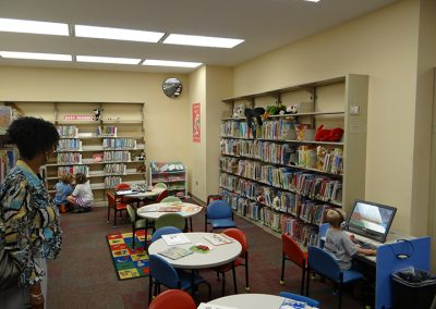 Kernersville Branch Library — before