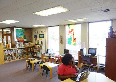 Malloy Jordan Branch Library — before