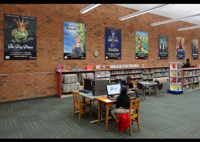 Reynolda Branch Library Movie Posters