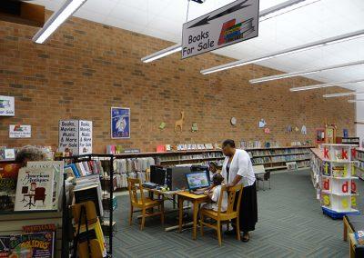 Reynolda Branch Library — before