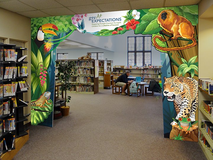 Carver Branch Library Jungle