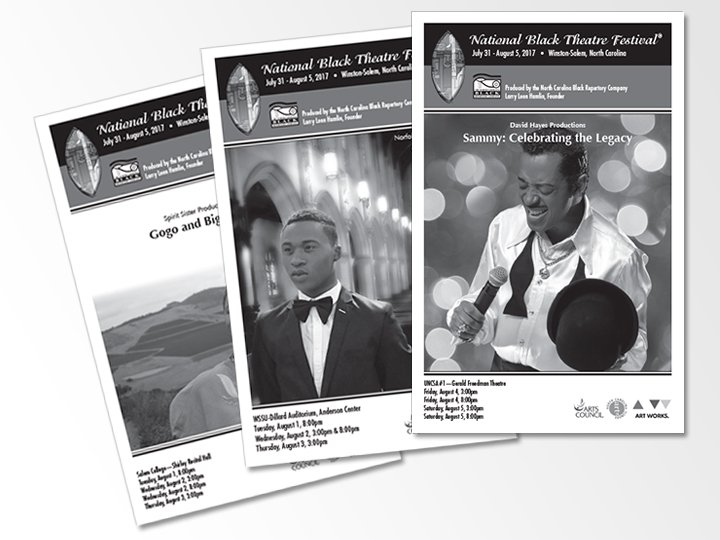 National Black Theatre Festival playbills