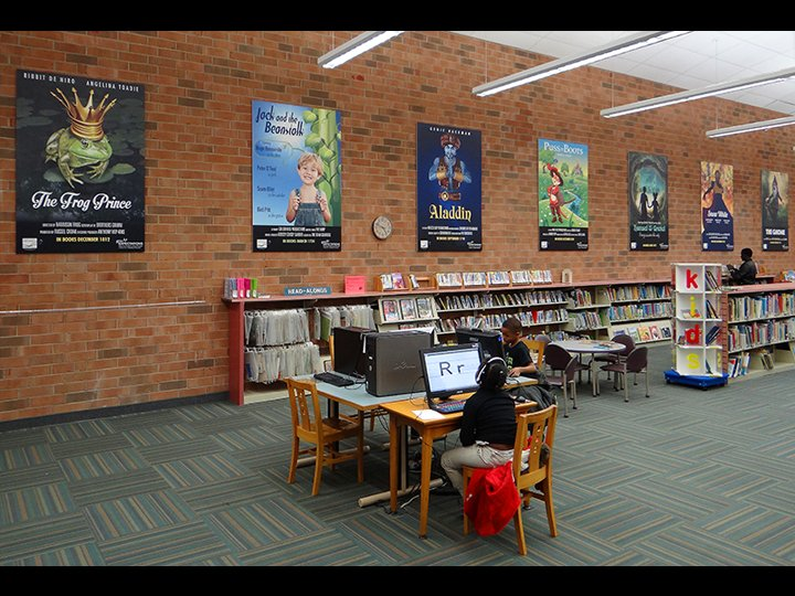 Reynolda Branch Library Movie Posters