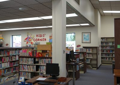 Rural Hall Branch Library — before