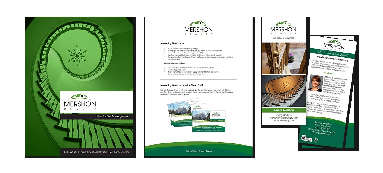 presentation kit and rack card design
