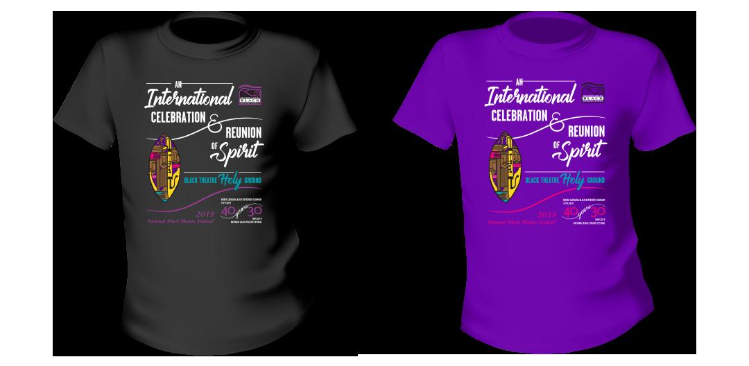 NBTF souvenir t-shirt design