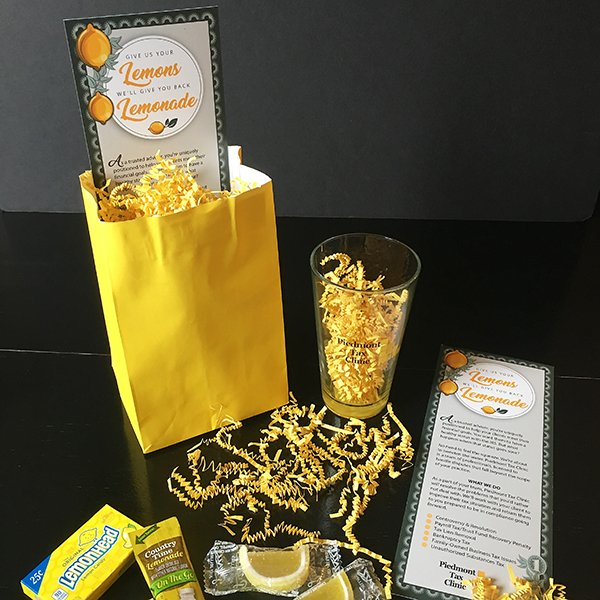 promotional gift package concept and design