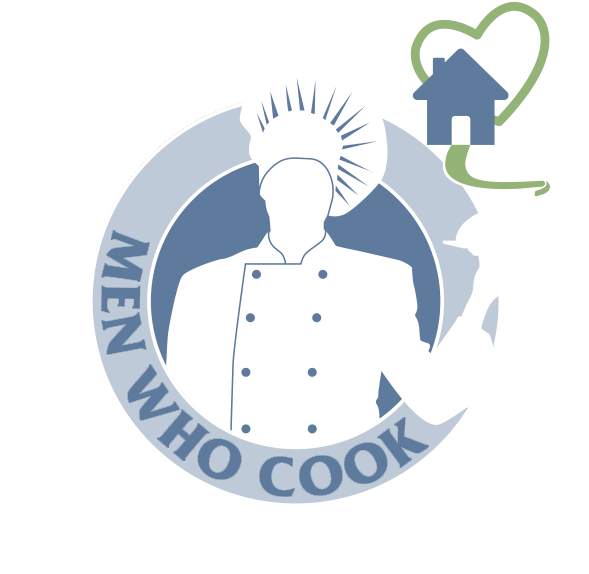 logo design for nonprofit fundraiser, SECU Family House Men Who Cook