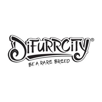 Difurrcity custom lettering design logo
