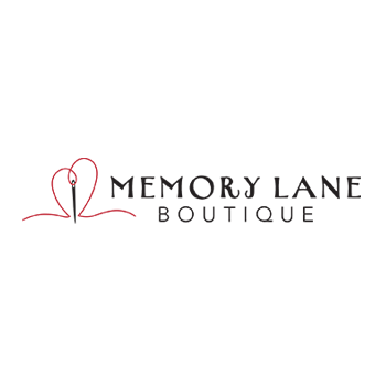 Memory Lane Boutique logo for memory bears and pillows