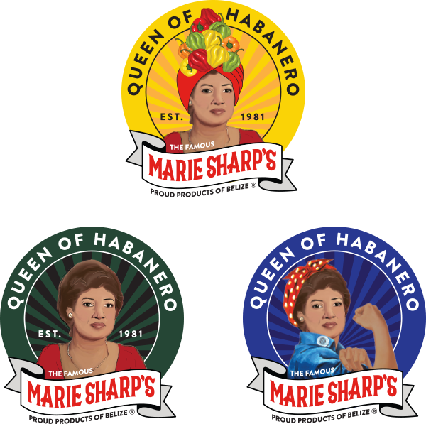 Marie Sharp's collectible stickers