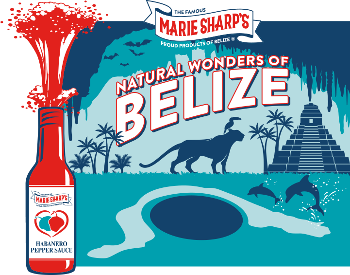 Marie Sharp's natural wonder of belize