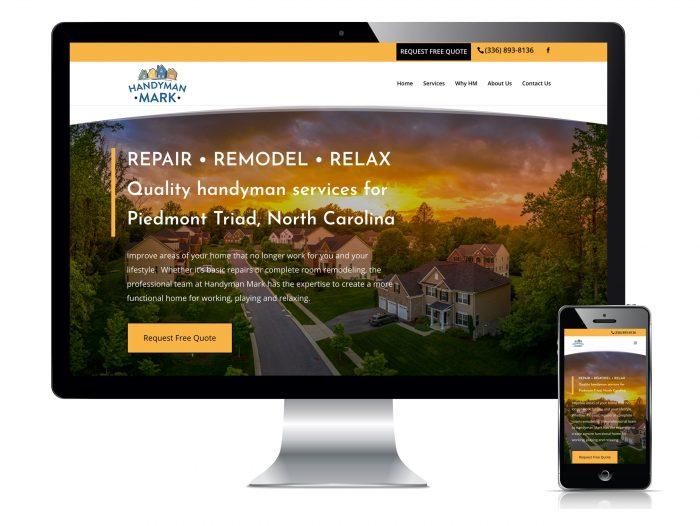 Handyman Mark website